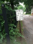 I don't know why this sign outside of the Truman home made me giggle.  I think the humidity got to my brain.