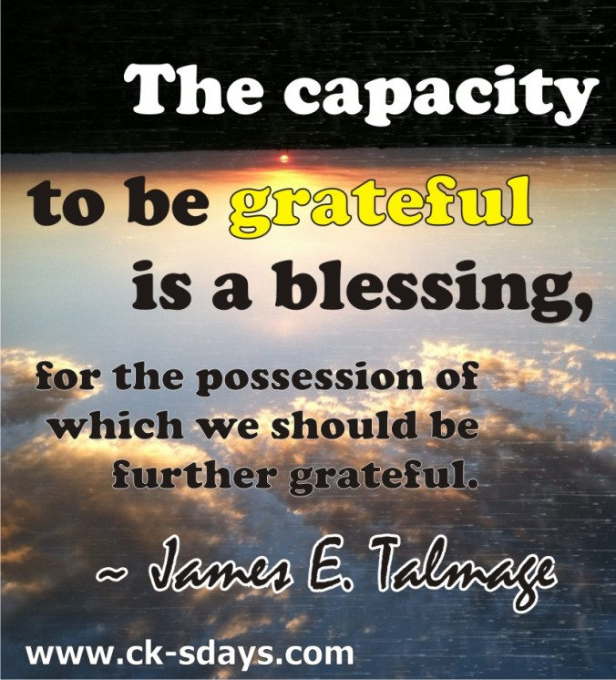 gratitude blessing