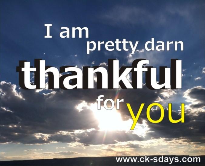 grateful you