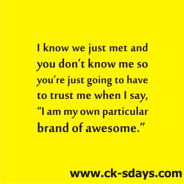 brand of awesome