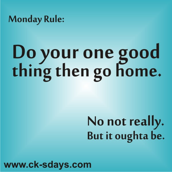 Monday rule