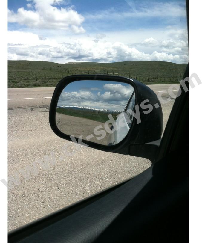 vacation mirror