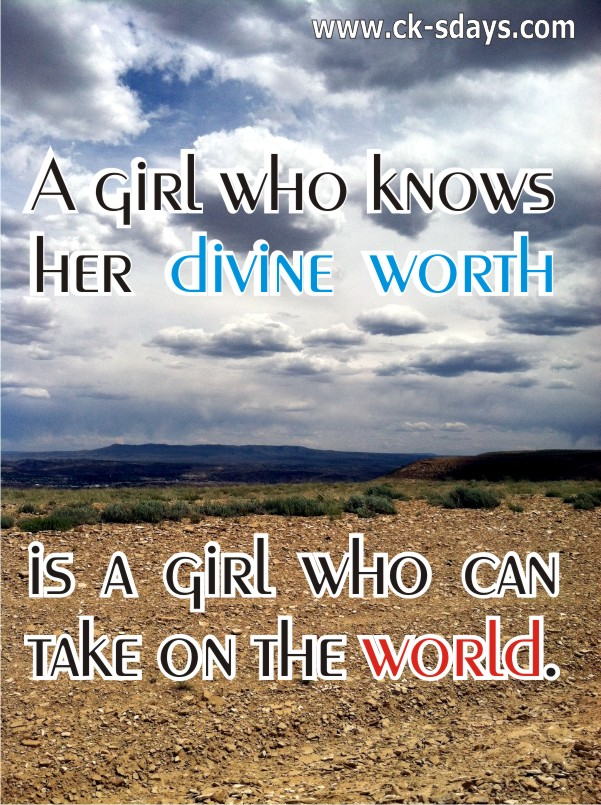 a girl's worth