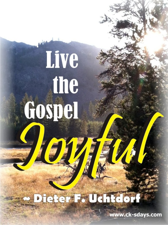 live the gospel joyful