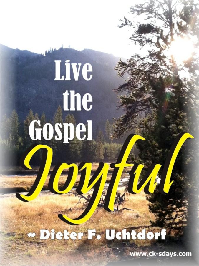 live the gospel joyful