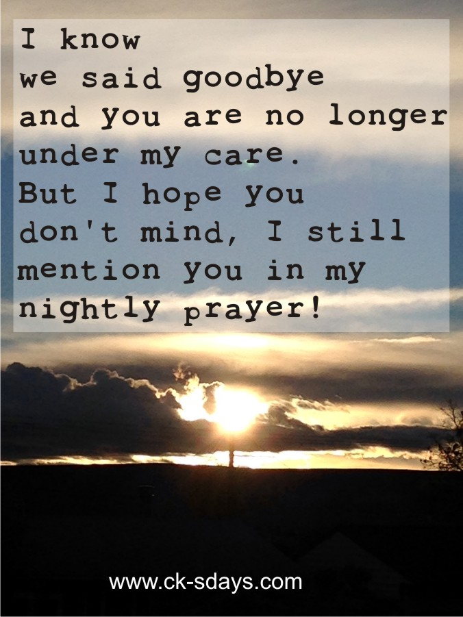 Nightly prayer