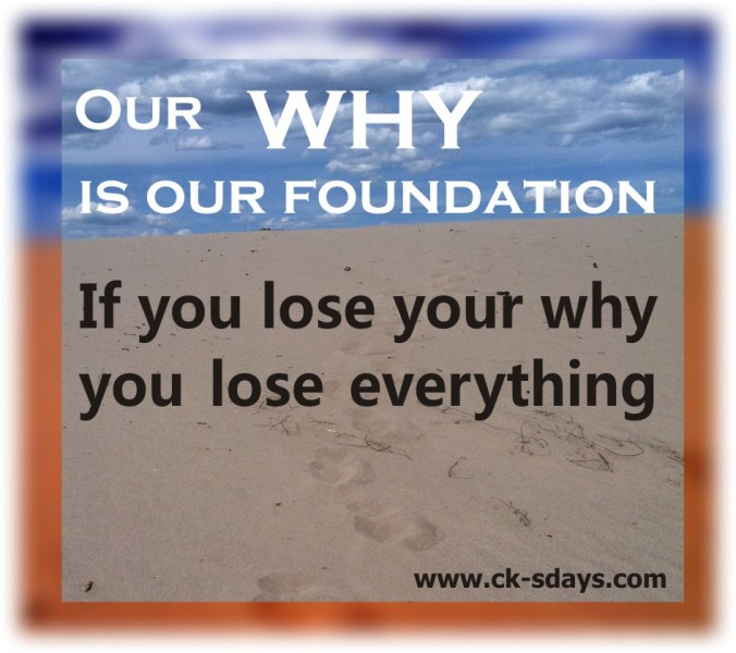 lose your why