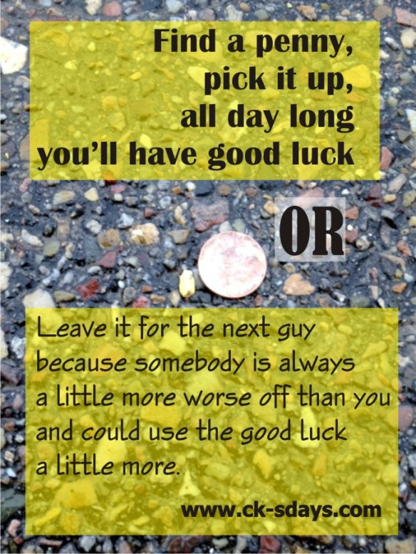 penny luck