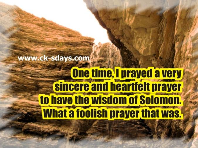 solomon 17