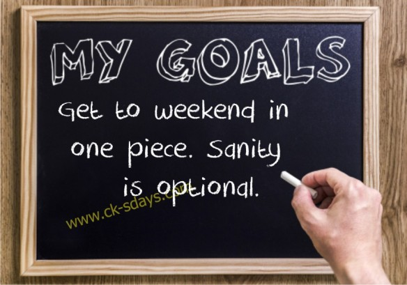 get to weekend 17