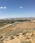vista of town