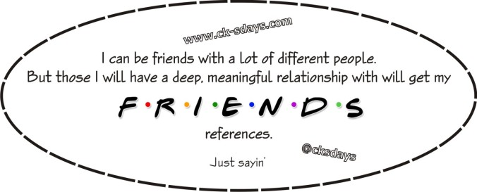 Friends references
