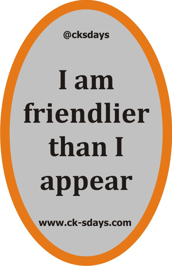 friendlier than appear