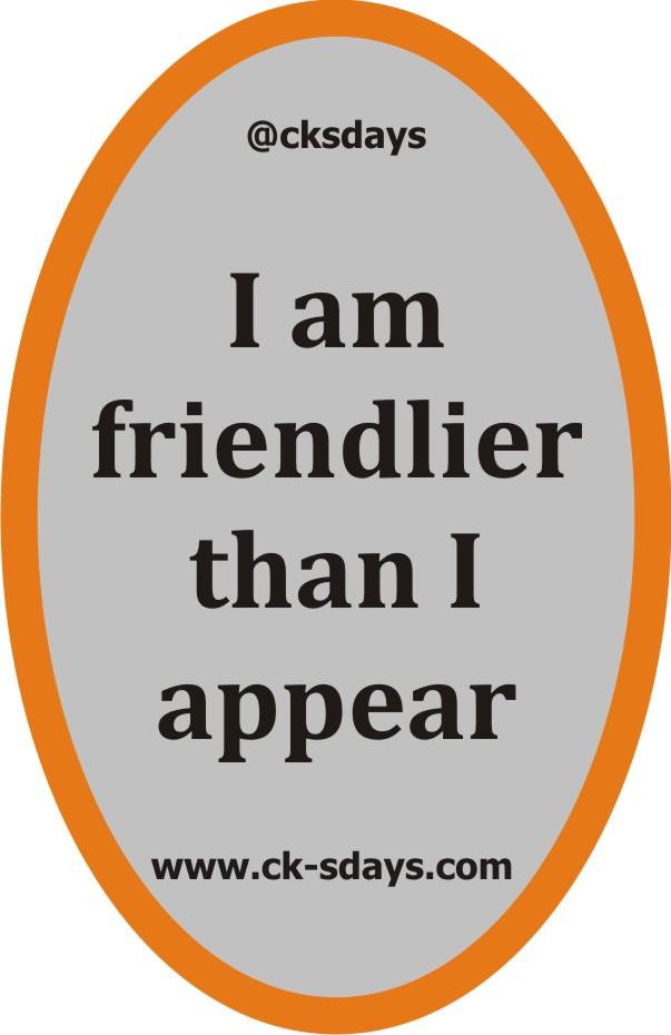 friendlier than appear