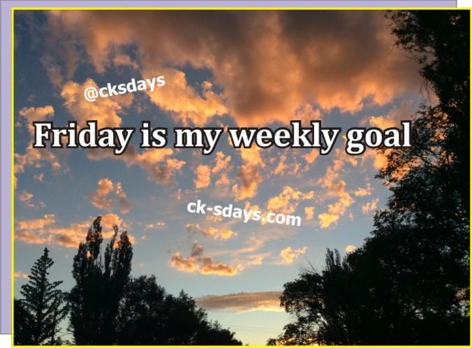 weekly goal